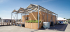 This is what the GRoW Home looked like when it was in Irvine, California, for the 2015 Solar Decathlon. In addition to its second-place finish overall, the project earned top-five finishes in each of the competition's 10 contests. The house placed first in three of those contests, all in measures of energy performance. Photo credit: Carl Burdick