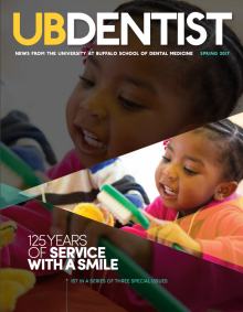 Cover of UB Dentist magazine