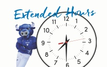 Extended Hours Clock.