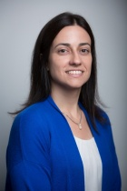 Head shot of Lora Cavuoto, assistant professor of industrial and systems engineering.