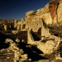 Chaco Canyon in New Mexico.